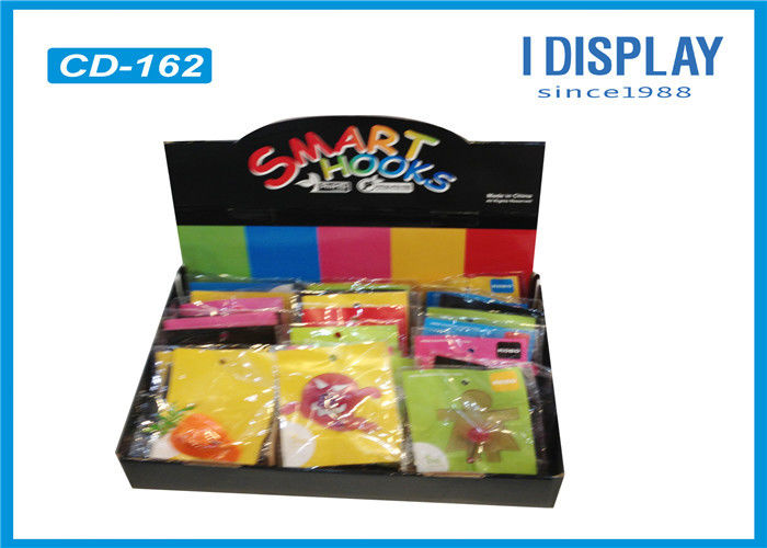 Eye Catching Promotional Countertop Retail Displays 4 Colors Offset Printing