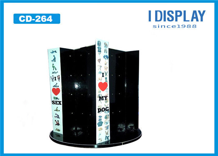 Multi Level Cardboard Counter Display , Four Sided Display For Stationery